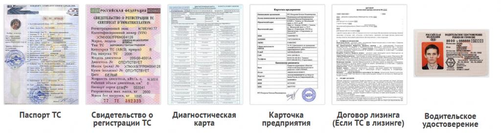 Документы для оформления пропуска юридическим лицам на МКАД