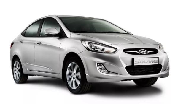 Hyundai Solaris - Владелец физлицо